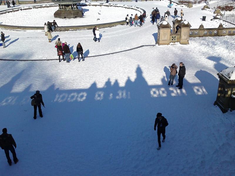 Central Park, December 21, 2009.