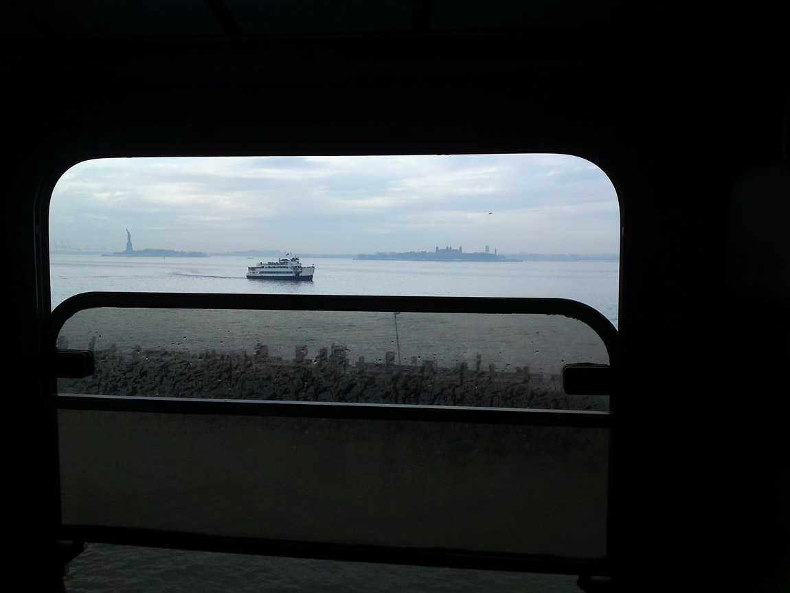 South Ferry, January 2, 2011.